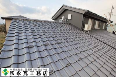 富山屋根瓦工事,小松製瓦フレア新築住宅09b.jpg