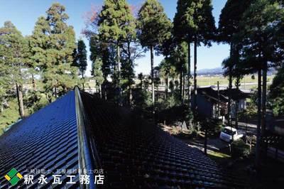 立山町 黒瓦屋根おろし替え工事 富山小松製瓦2.jpg