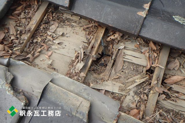 富山市屋根リフォーム工事、木下地修理.jpg