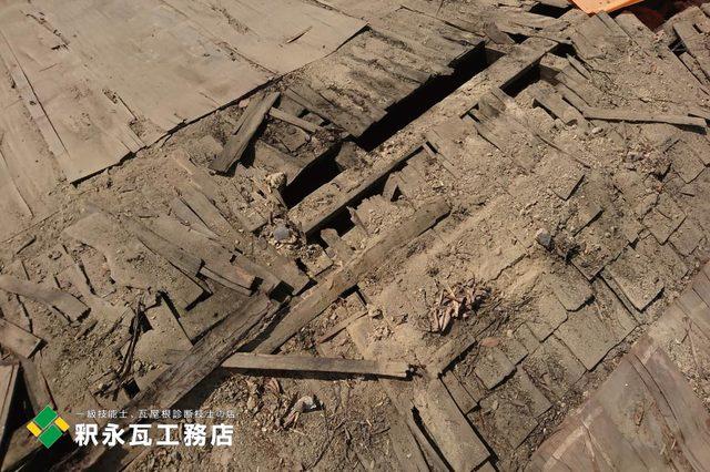 富山市屋根リフォーム工事、木下地修理3.jpg