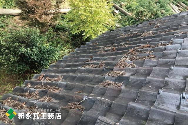 瓦屋根落ち葉清掃 富山県立山町h.jpg
