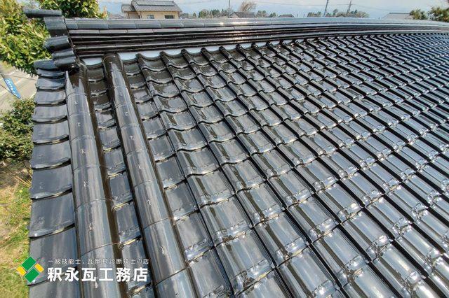 富山市、緩勾配屋根リフォーム、雨漏り工事、鬼瓦.jpg
