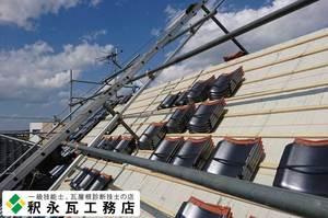 富山市 瓦おろし替え 急勾配屋根リフォーム工事04.jpg