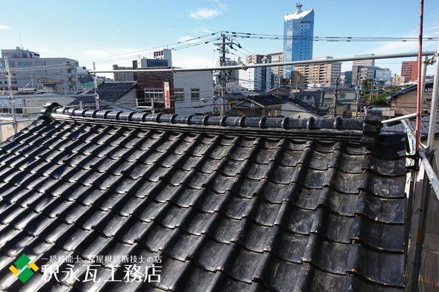 富山市H様邸 瓦しめなおし工事 屋根リフォームa.jpg