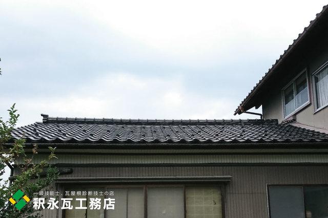 立山町屋根リフォーム 棟積み替え工事x.jpg