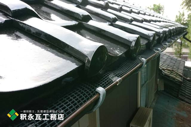 雨樋落ち葉ネット 立山屋根工事c.jpg