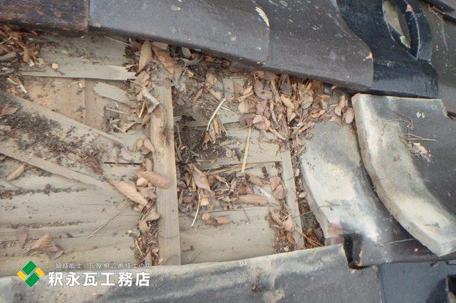 富山市屋根リフォーム工事、木下地修理2.jpg